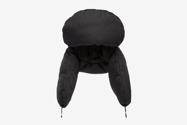 Padded Nylon Gabardine Hat