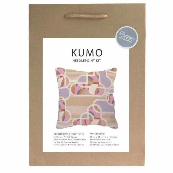 Pillow Kumo Needlepoint Kit