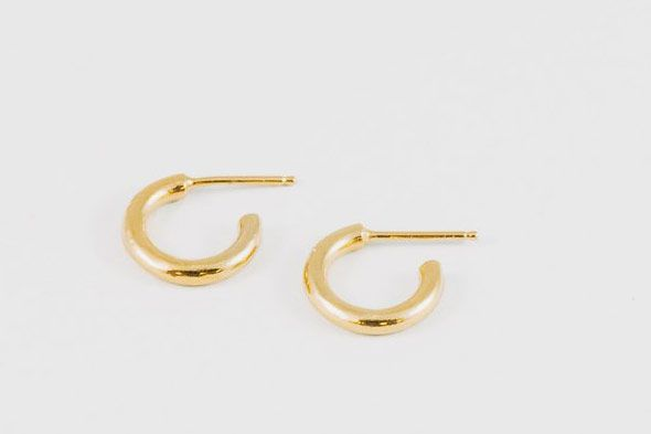 Wolf Circus Gia Baby Hoops in Gold