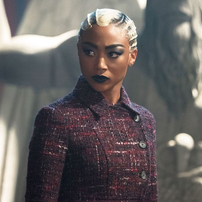 Tati Gabrielle as Prudence in Chilling Adventures of Sabrina.