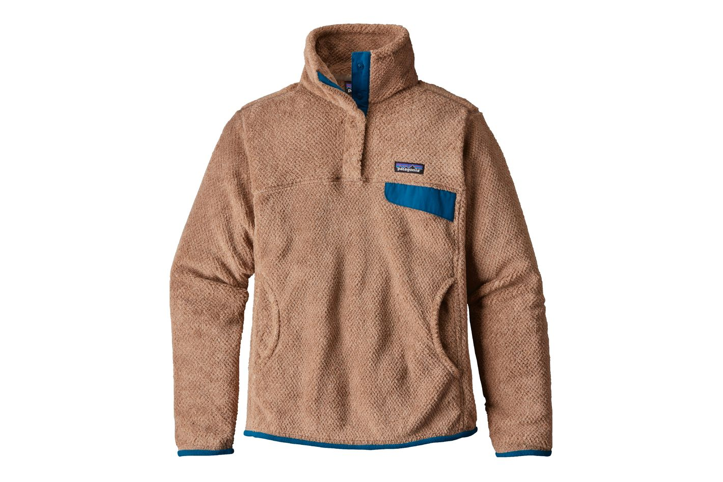 Patagonia Re-Tool Snap-T Fleece Pullover in Light Sesame