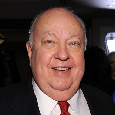 """President of Fox News Channel Roger Ailes and Fox Business Network anchor Melissa Francis  attend Melissa's book """"Diary of a Stage Mother's Daughter"""" launch party at Astra on November 8, 2012 in New York City."""