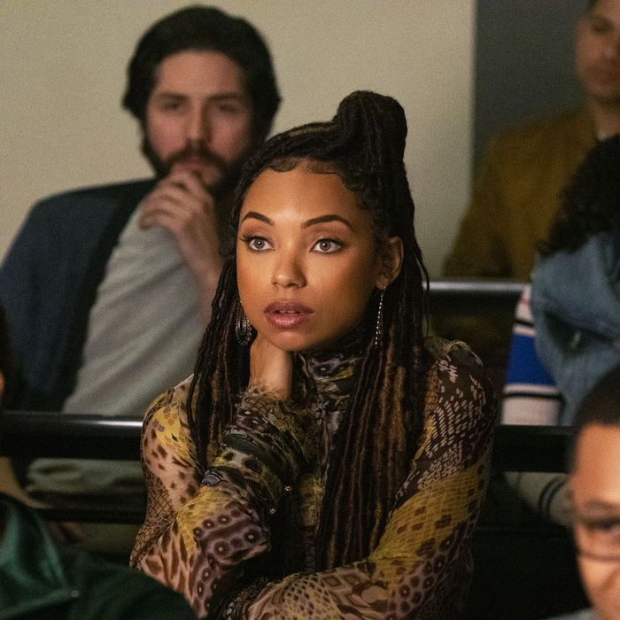 Logan Browning in Dear White People.