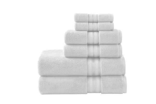 Better Homes and Gardens Thick and Plush Solid 6-Piece Set Towel