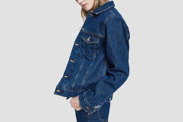 Oversized Denim Jacket in Judd Wash