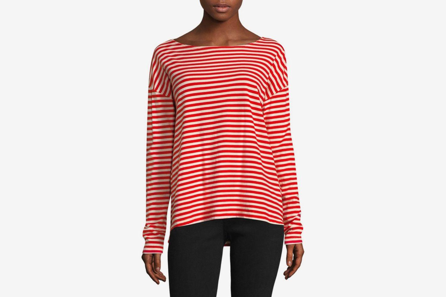 Current/Elliott Breton Long Sleeve Tee Shirt