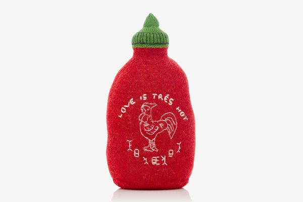 Oeuf M'O Exclusive Hot Sauce Knit Pillow