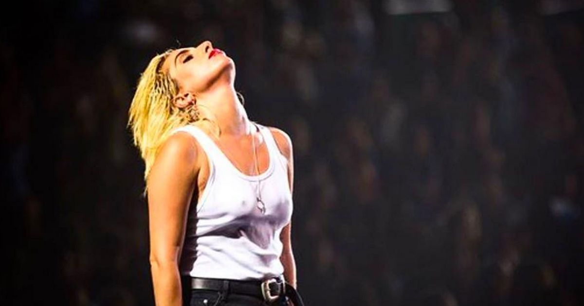 Lady Gaga Covers the Beatles and Neil Young at a DNC Event