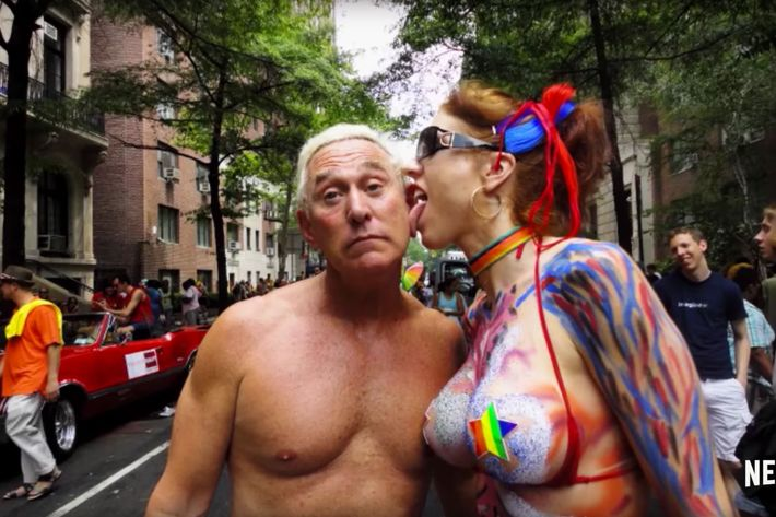 Image result for roger stone with pretty girl
