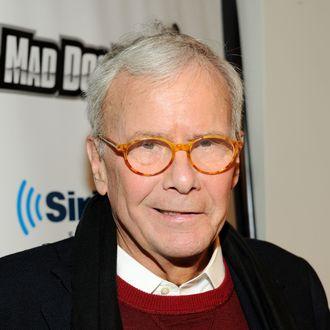 NEW YORK, NY - NOVEMBER 21: Journalist Tom Brokaw visits SiriusXM Studios on November 21, 2013 in New York City. (Photo by Ben Gabbe/Getty Images)