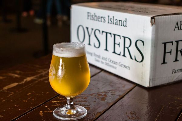 Brooklyn Brewery and the Billion Oyster Project Have Collaborated on a Limited-Edition Saison