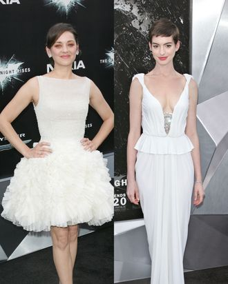 Marion Cotillard and Anne Hathaway.