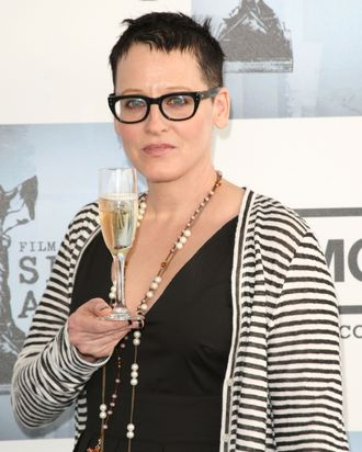 SANTA MONICA, CA - FEBRUARY 21: Actress Lori Petty arrives at the 24th Annual Film Independent's Spirit Awards held at Santa Monica Beach on February 21, 2009 in Santa Monica, California. (Photo by Jason Merritt/Getty Images) *** Local Caption *** Lori Petty