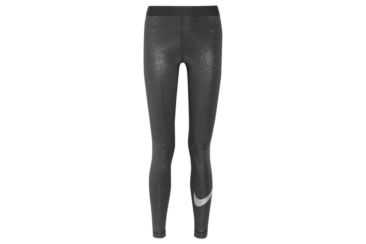 Nike Sparkle Pro Cool Dri-FIT stretch-lamé leggings