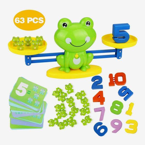 Frog Balance Math Game