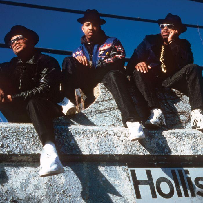 Run-DMC, ca. 1986.