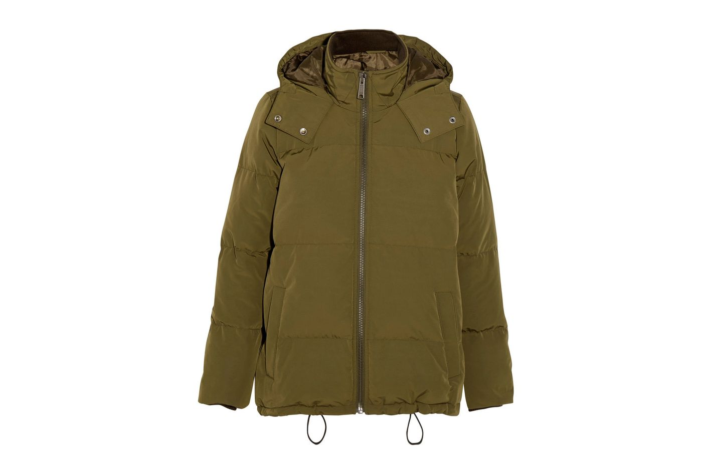 MADEWELL Hooded quilted shell down jacket