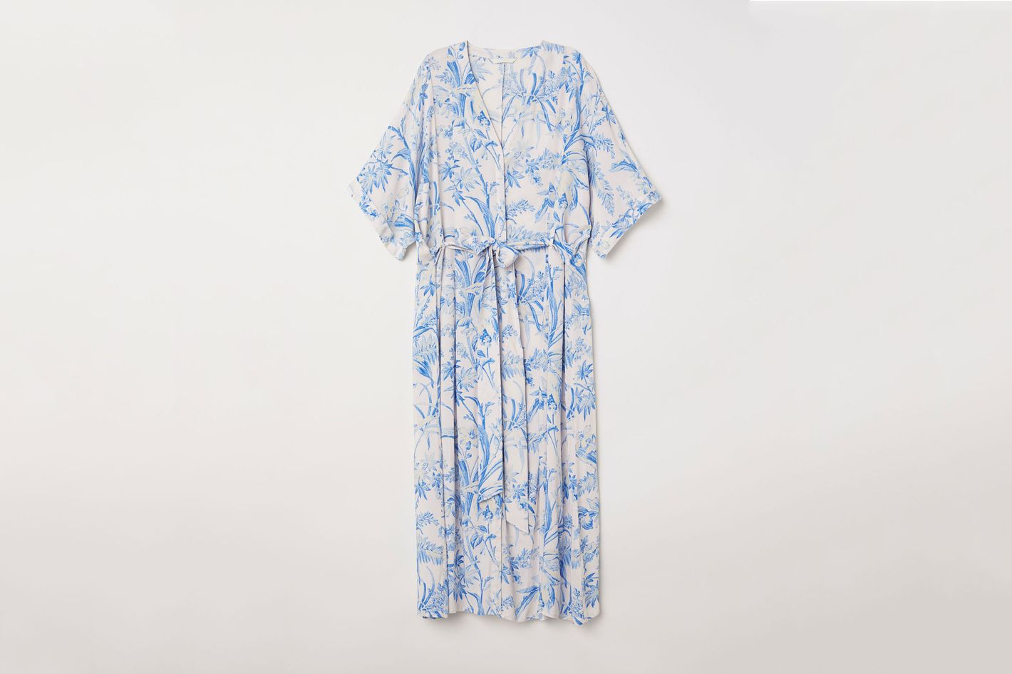 Patterned Kaftan Dress