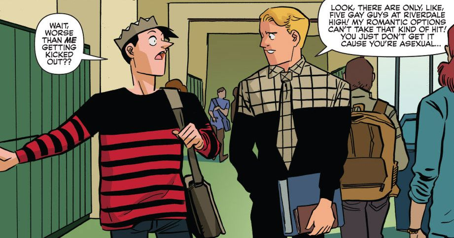 Is Jughead asexual?