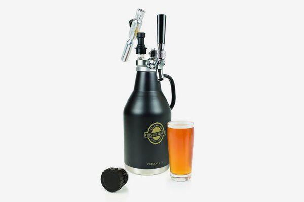 Nostalgia CBG64 Homecraft Pressurized Beer Growler