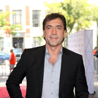 Actor/ Producer Javier Bardem attends the
