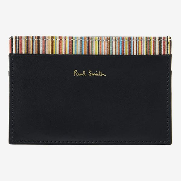 Paul Smith Interior Stripe Credit Card Wallet