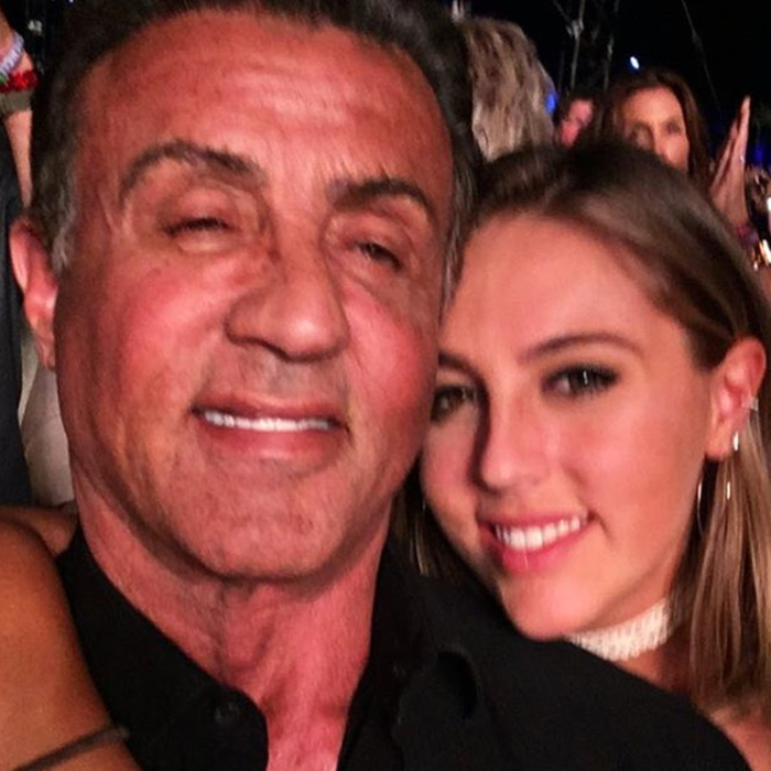 The rad Dad life. Sylvester Stallone/Instagram