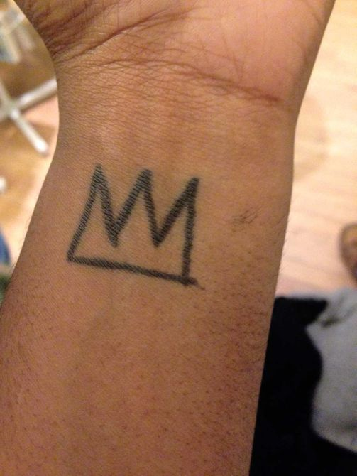 Basquiat crown tattoo meaning images for Vulture tattoo meaning