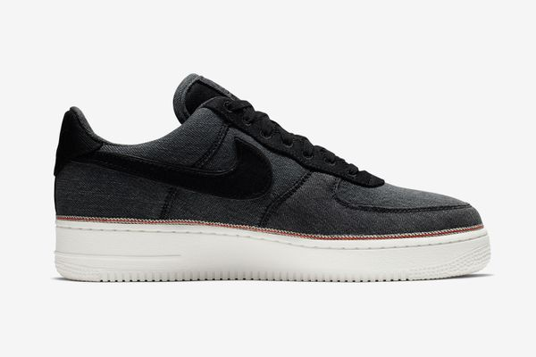 3X1 Nike Air Force 1 in Black Denim Selvedge