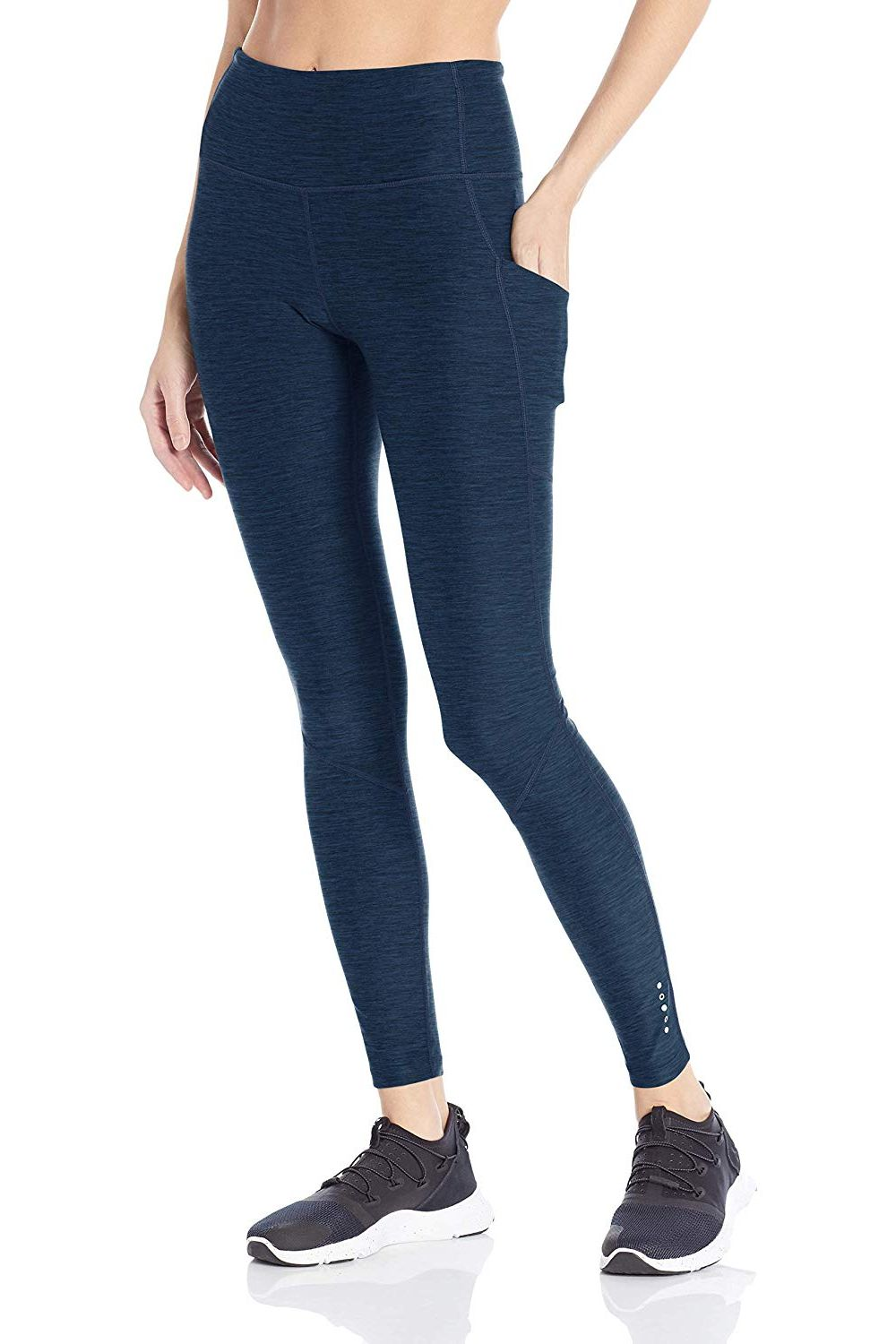 Core 10 Women's Cozy High Waist Yoga Workout Legging with Pockets