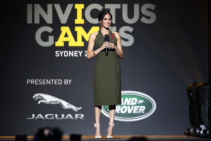 Meghan Markle at the Invictus Games.