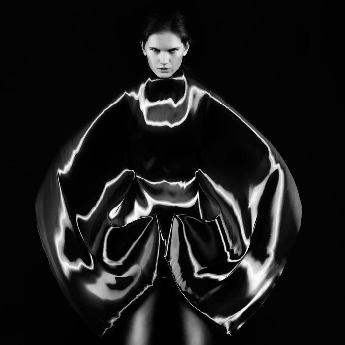 Iris Van Herpen, 'Micro', haute couture spring/summer 2012.
