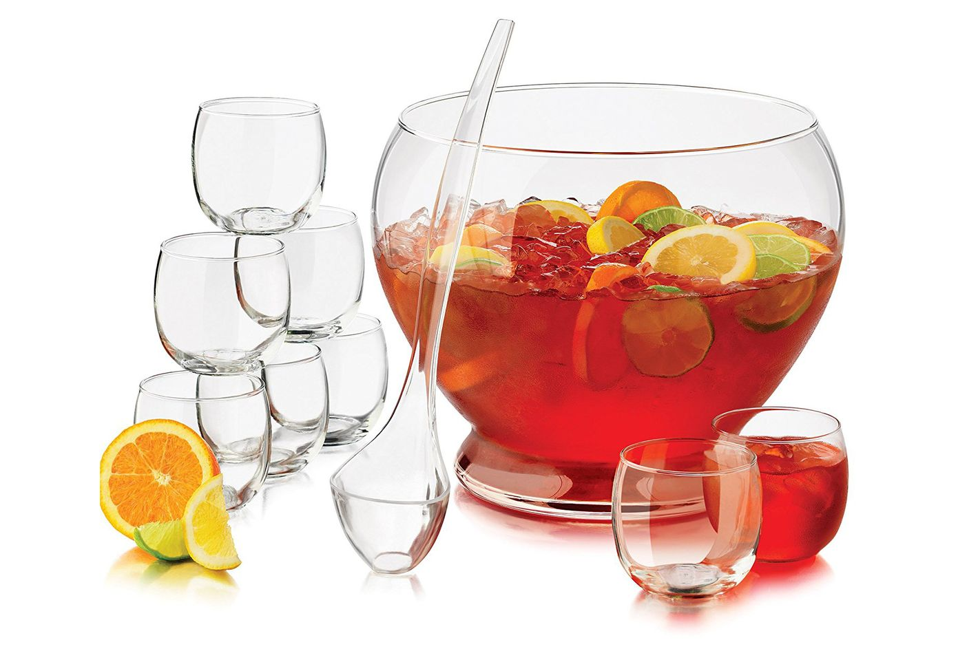 Libbey 10-Piece Punch Bowl