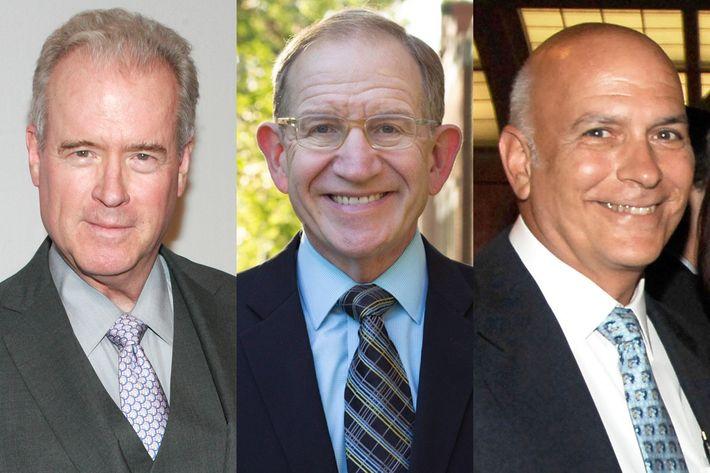 Robert Mercer, Vincent Kolber, Marc Stanley Goldman.
