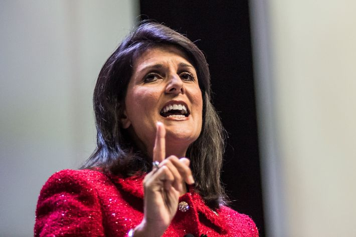 Gov. Nikki Haley.
