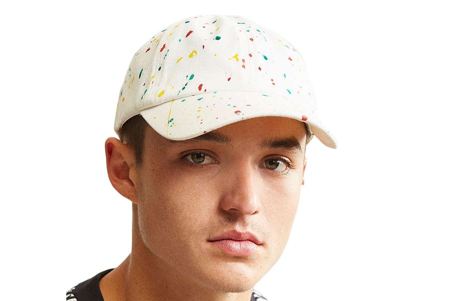 UO Paint Splatter Baseball Hat
