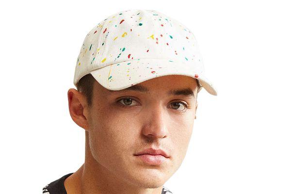 UO Paint Splatter Baseball Hat