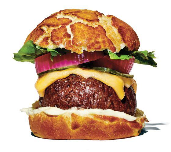 Bar Bolinas's cheeseburger.