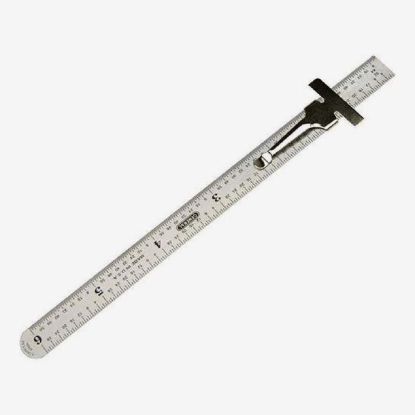 General Tools 300/1 6-Inch Flex Precision Stainless Steel Ruler