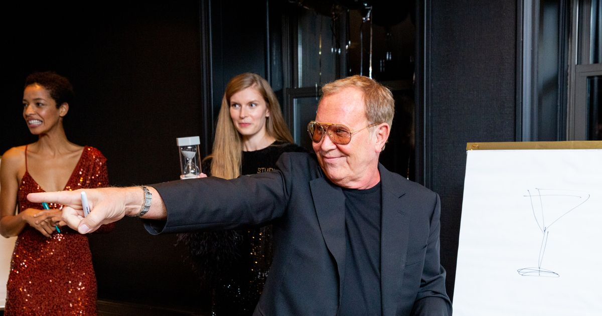 Playing Pictionary With Michael Kors