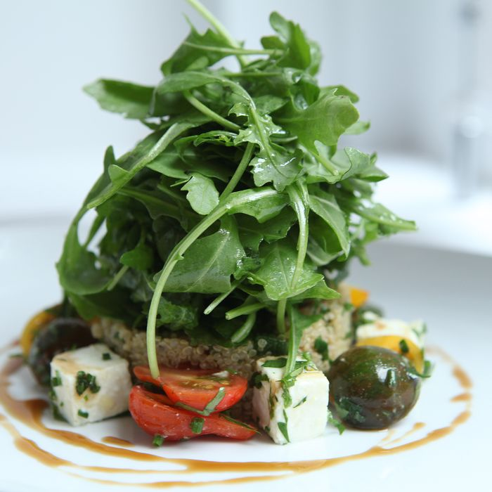 The quinoa salad at Kutsher's Tribeca.