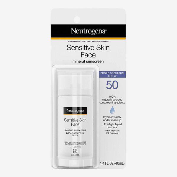 Neutrogena Face Sunscreen for Sensitive Skin