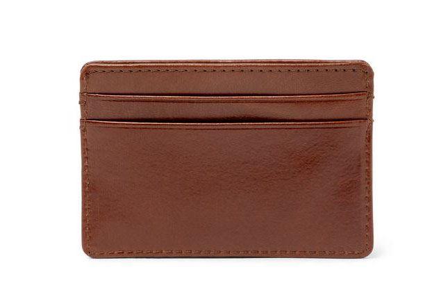 J.Crew Leather Cardholder