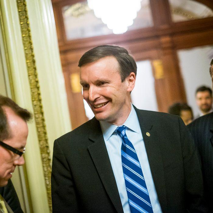 CT Senator Chris Murphy Leads Gun Control Filibuster In The Senate
