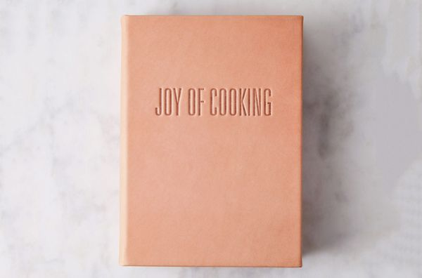 Graphic Image Leather Bound Joy of Cooking