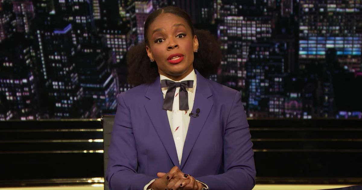 Amber Ruffin Is Done With People Pretending They Can't Pronounce 'Kamala Harris'