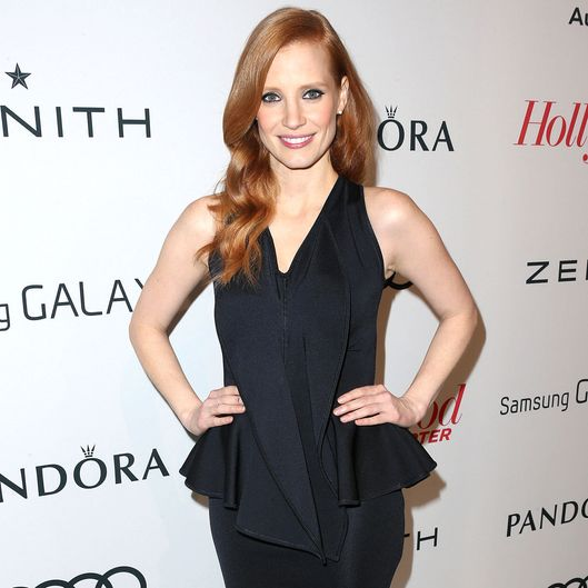 Actress Jessica Chastain attends The Hollywood Reporter Nominees' Night 2013 Celebrating The 85th Annual Academy Award Nominees at Spago on February 4, 2013 in Beverly Hills, California.