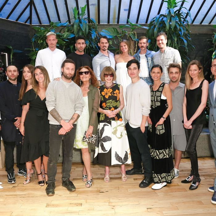 The CFDA/Vogue Fashion Fund finalists.