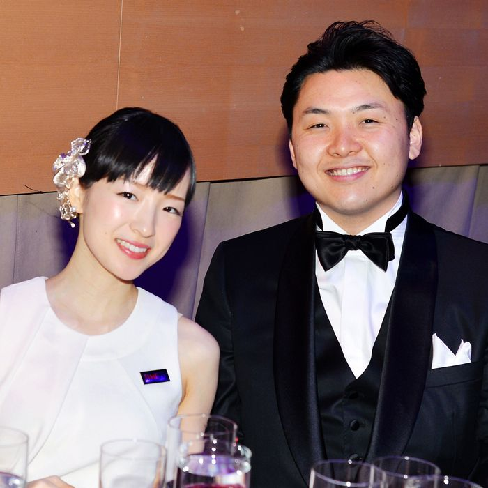 Marie Kondo, and her husband, Takumi Kawahara.