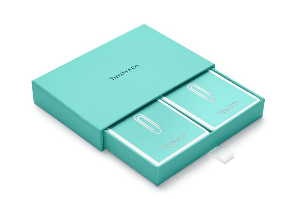 Tiffany Paper Clip Playing Cards
